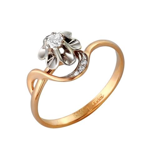 Золотое кольцо Бриллиант арт. 1-105-295 1-105-295