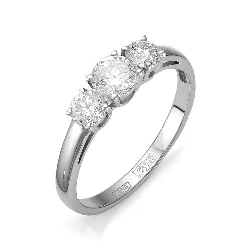 Кольцо из белого золота Бриллиант арт. 1-105-705 1-105-705