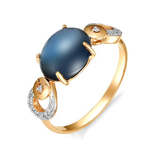 Золотое кольцо Бриллиант и Топаз арт. 1-105-772 1-105-772