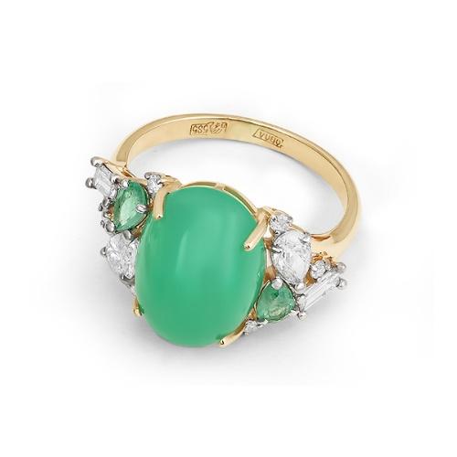 Золотое кольцо Изумруд и Прочие арт. 1-105-815 1-105-815