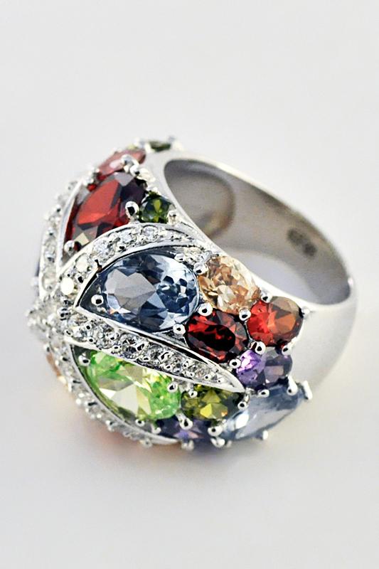 Серебряное кольцо Фианит арт. r86065 r86065