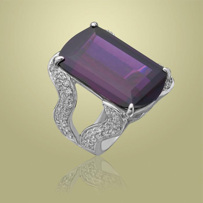 Серебряное кольцо Фианит арт. r904696-a r904696-a