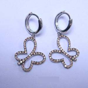 Серебряные серьги с цирконием арт. e88882-2 e88882-2