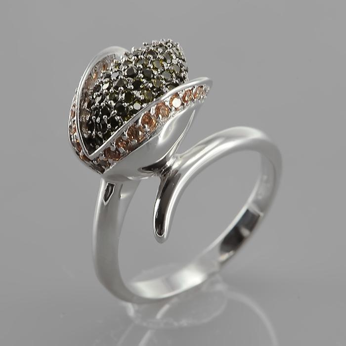 Серебряное кольцо Фианит арт. r906749-a r906749-a