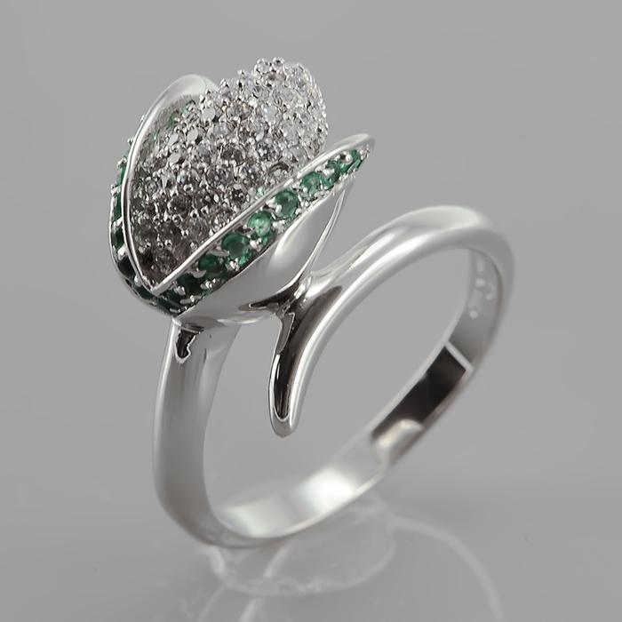 Серебряное кольцо Фианит арт. r906749-j r906749-j