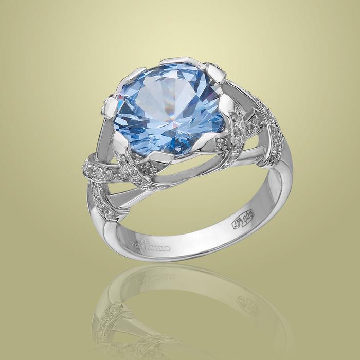 Серебряное кольцо Фианит арт. r906904-a r906904-a