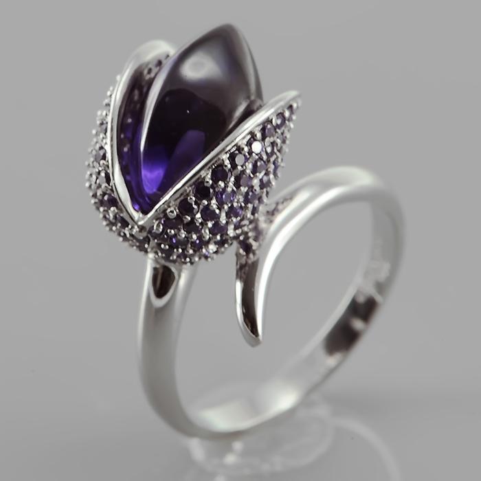 Серебряное кольцо Фианит арт. r906748-p r906748-p