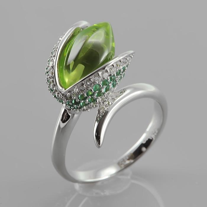 Серебряное кольцо Фианит арт. r906748-a r906748-a