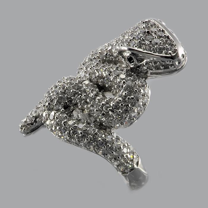 Серебряное кольцо Фианит арт. r945879-a r945879-a