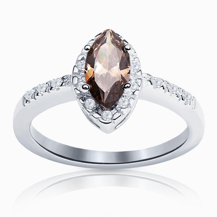 Серебряное кольцо Фианит арт. 00599 00599