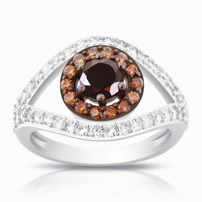 Серебряное кольцо Фианит арт. 02775 02775