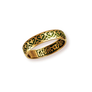Кольцо серебряное с позолотой Эмаль арт. 04021 04021