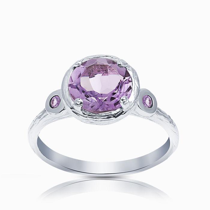 Серебряное кольцо Аметист арт. 00231 00231