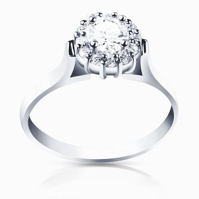 Серебряное кольцо Фианит арт. 00193 00193