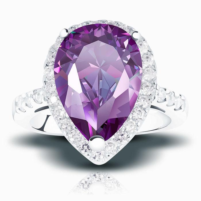 Серебряное кольцо Фианит арт. 00618 00618