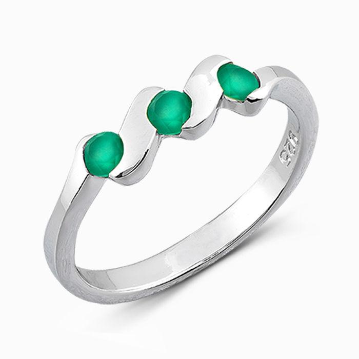 Серебряное кольцо Агат арт. 04891 04891