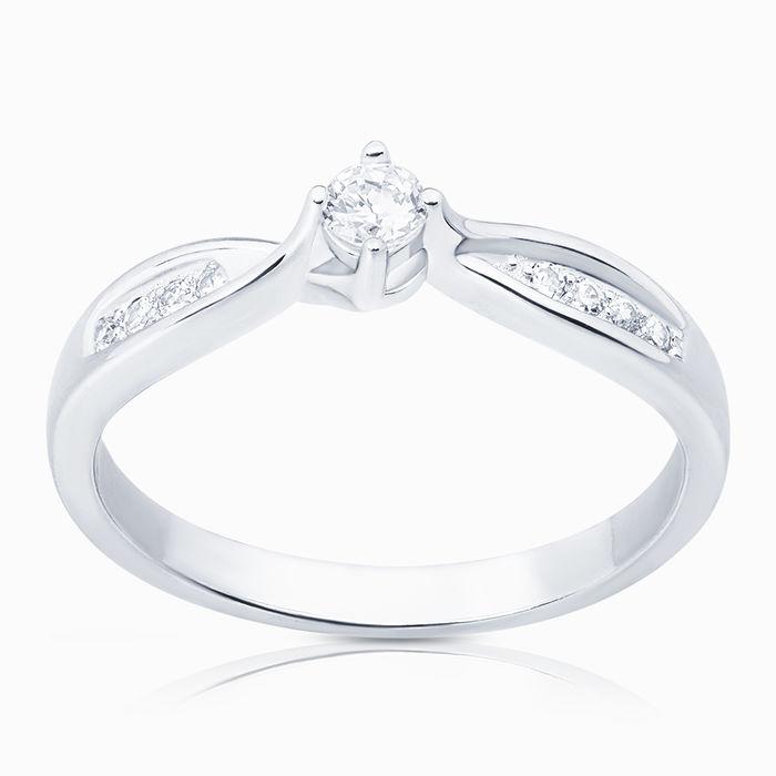 Серебряное кольцо Фианит арт. 05027 05027