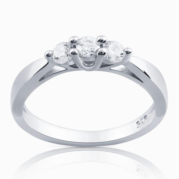 Серебряное кольцо Фианит арт. 05029 05029
