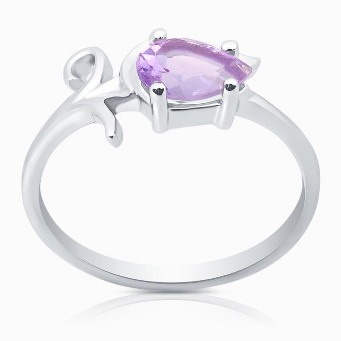 Серебряное кольцо Аметист арт. 04988 04988