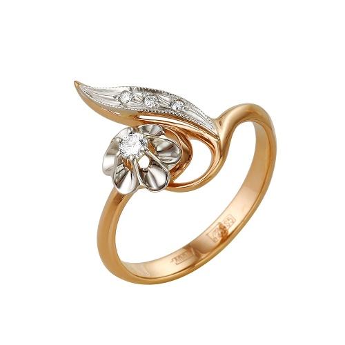 Золотое кольцо Бриллиант арт. 1-104-686/1 1-104-686/1