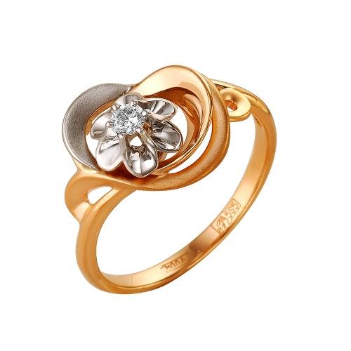 Золотое кольцо Бриллиант арт. 1-105-185 1-105-185