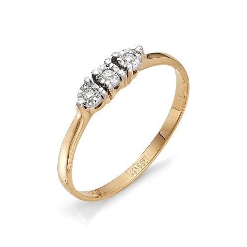 Золотое кольцо Бриллиант арт. 1-105-485 1-105-485