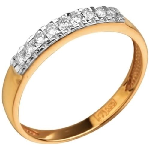 Обручальное кольцо из белого золота с бриллиантом арт. 808-11001 808-11001