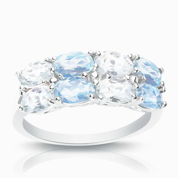 Серебряное кольцо Прочие и Топаз арт. 01637 01637