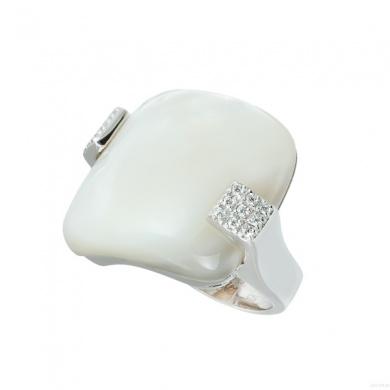 Серебряное кольцо Прочие и Фианит арт. r904869-b r904869-b