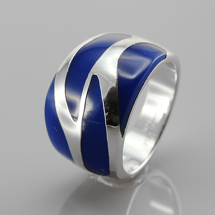 Серебряное кольцо Эмаль арт. r905088-2c r905088-2c