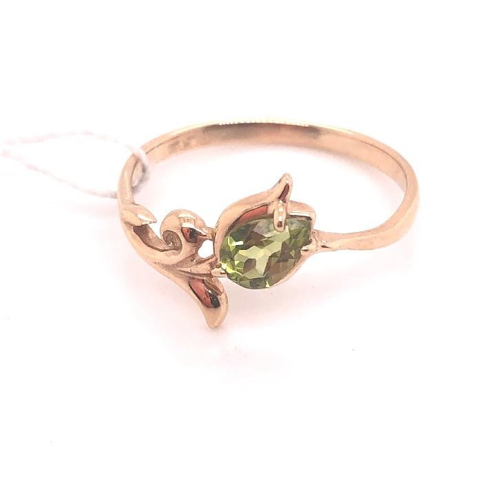 Золотое кольцо Хризолит арт. 11006Х 11006Х