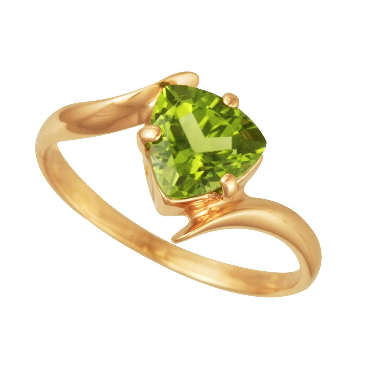 Золотое кольцо Хризолит арт. 11002Х 11002Х