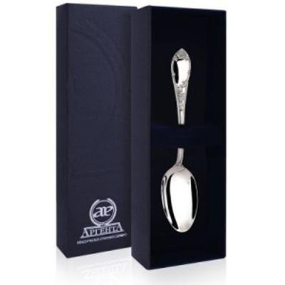 Кофейная ложка из серебра арт. 205лж07006 престиж с черн 205лж07006 престиж с черн