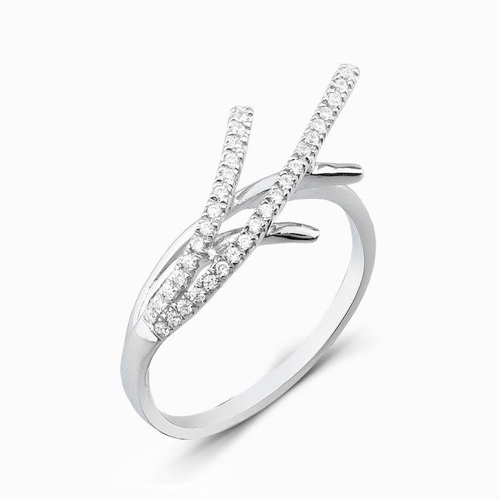 Серебряное кольцо Фианит арт. 05287 05287