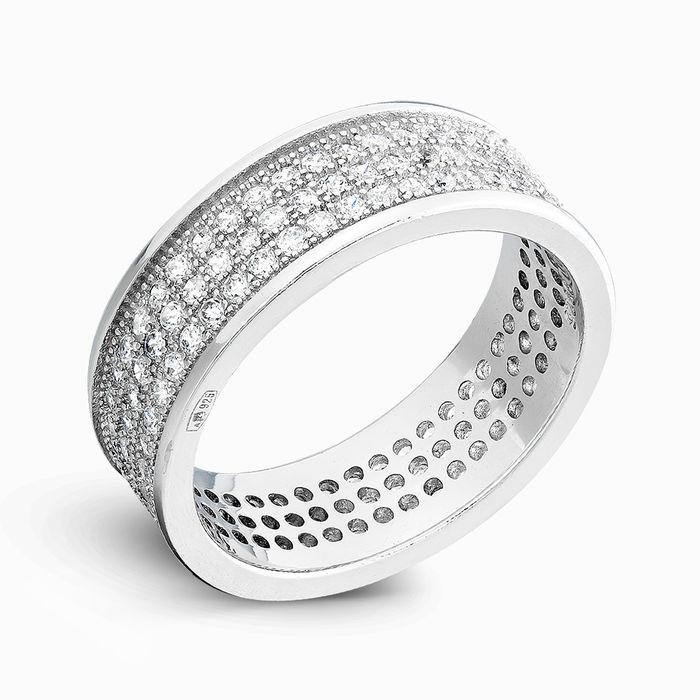 Серебряное кольцо Фианит арт. 02534 02534