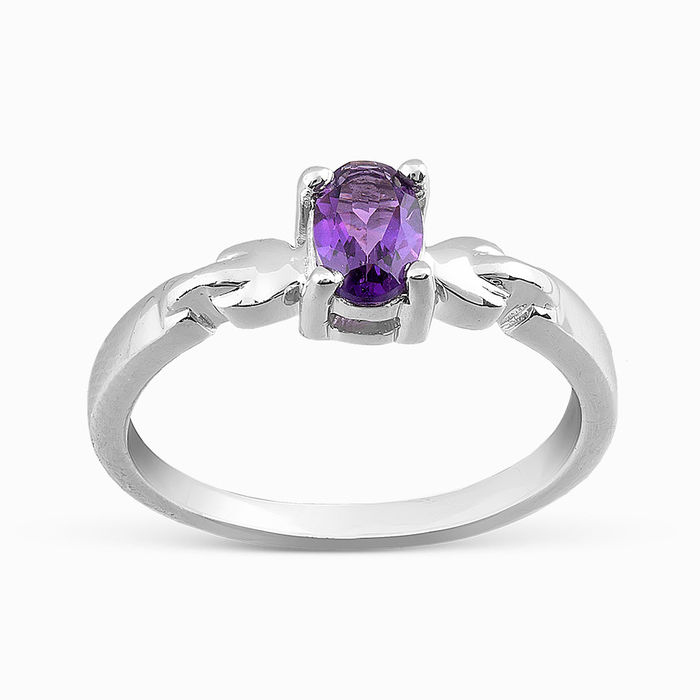 Серебряное кольцо Аметист арт. 05733 05733
