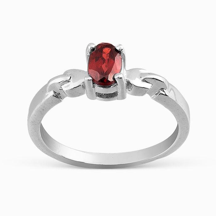 Серебряное кольцо Гранат арт. 05718 05718