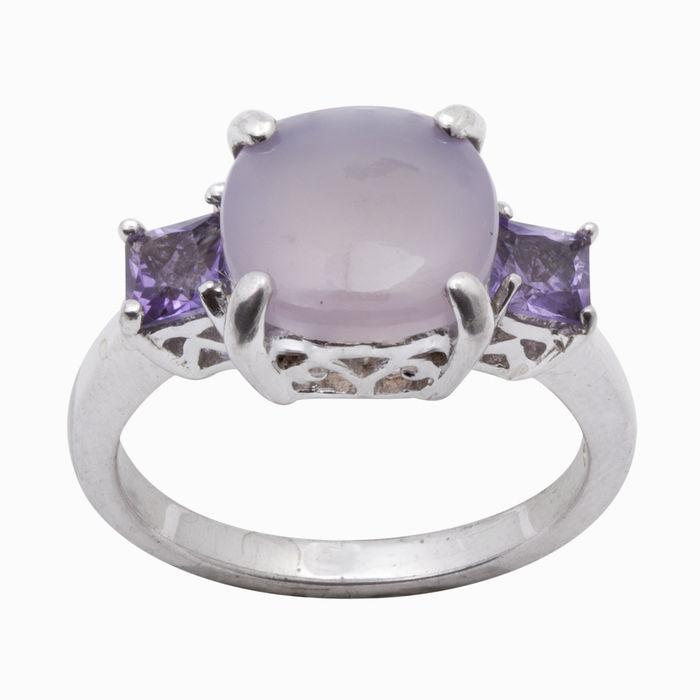 Серебряное кольцо Аметист и Прочие арт. 03495 03495
