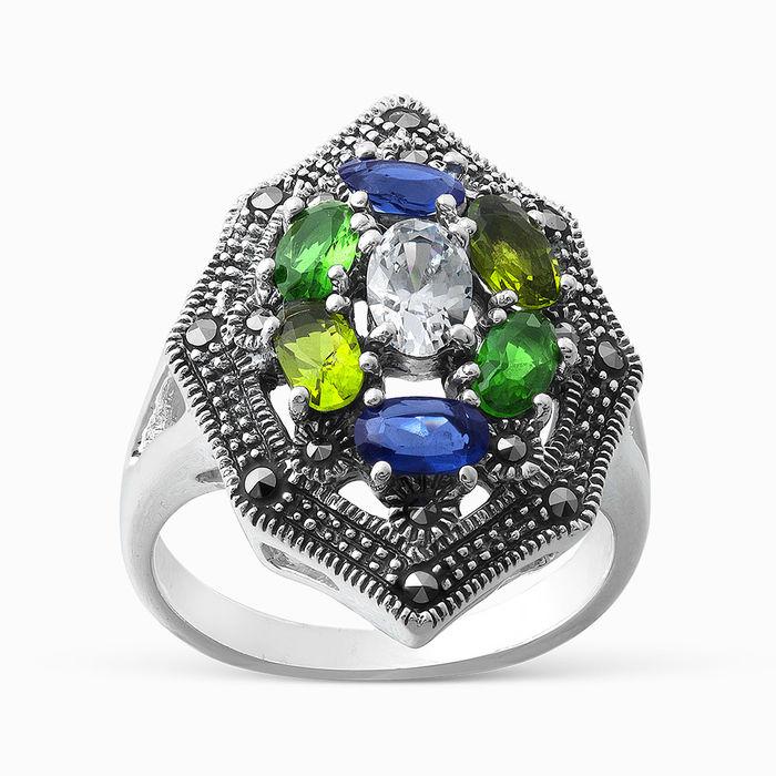 Серебряное кольцо Прочие и Фианит арт. 05482 05482