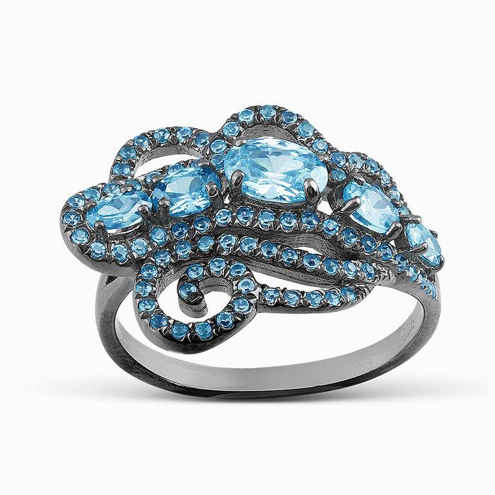 Серебряное кольцо Фианит арт. 05724 05724