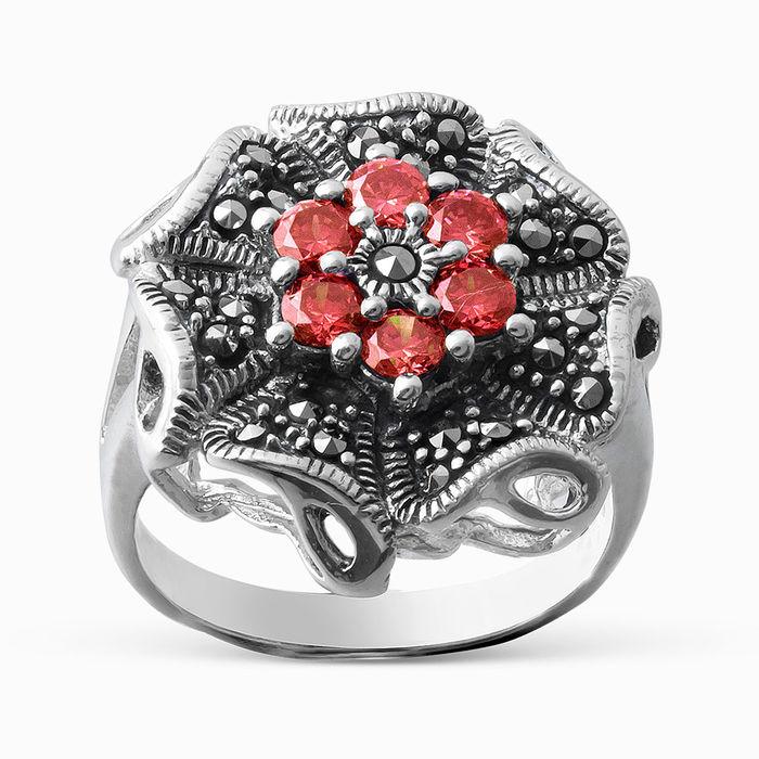Серебряное кольцо Прочие и Фианит арт. 05458 05458