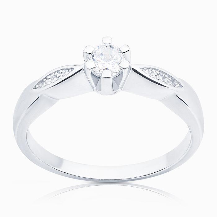 Серебряное кольцо Фианит арт. 04317 04317