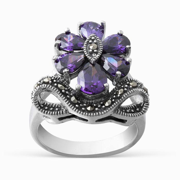 Серебряное кольцо Прочие и Фианит арт. 05525 05525