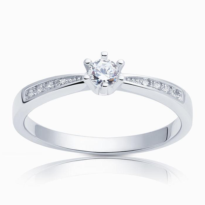 Серебряное кольцо Фианит арт. 04320 04320