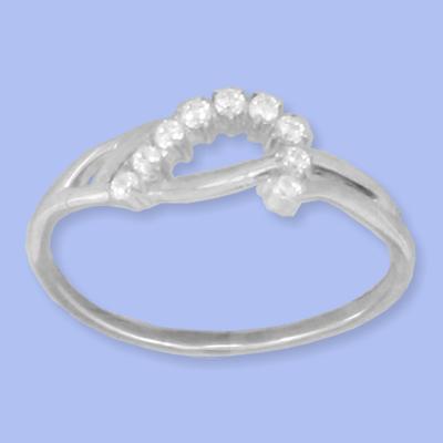 05011007-6 Серебряное кольцо