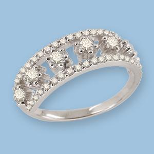 05010300-6 Серебряное кольцо