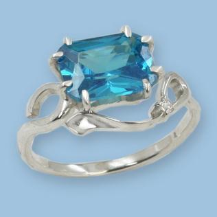 05011073-6 Серебряное кольцо