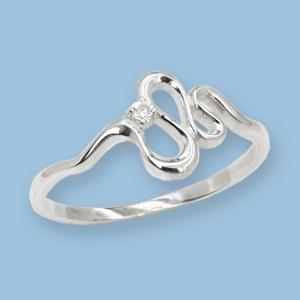 05011034-6 Серебряное кольцо