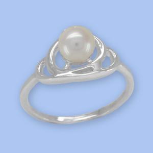 09011251-6 Серебряное кольцо