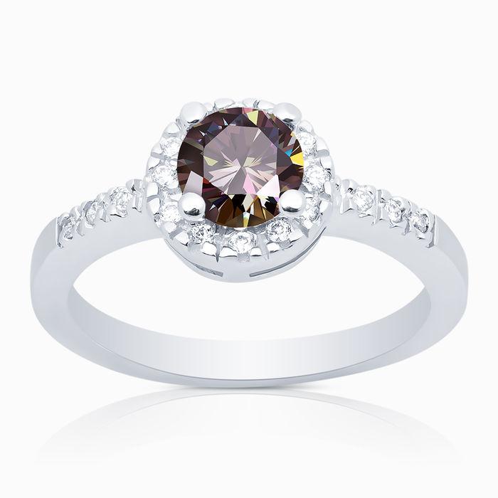 Серебряное кольцо Фианит арт. 00600 00600